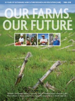 The cover of our farms, our future
