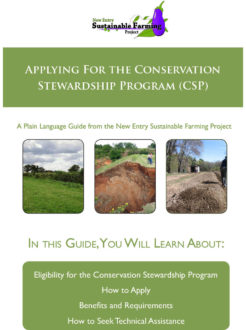 guide to applying for the Conservation Stewardship Program