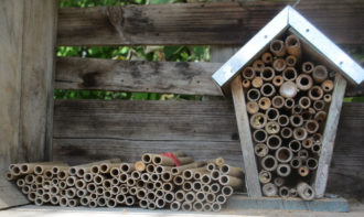 artificial bee houses