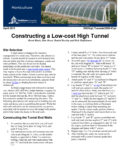 Utah State University Cooperative Extension fact sheet