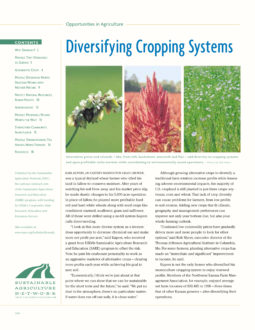 Diversifying Cropping Systems
