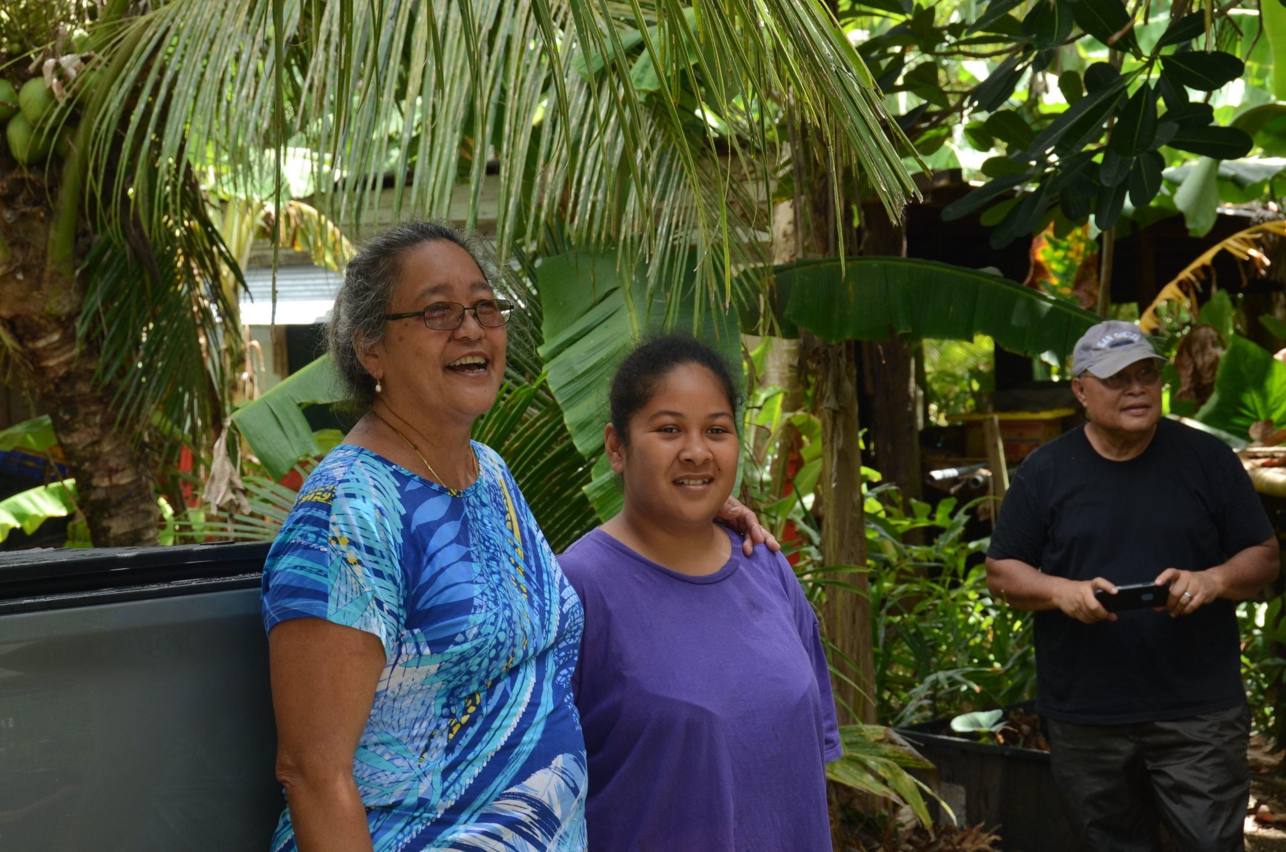 Farmers in Pohnpei