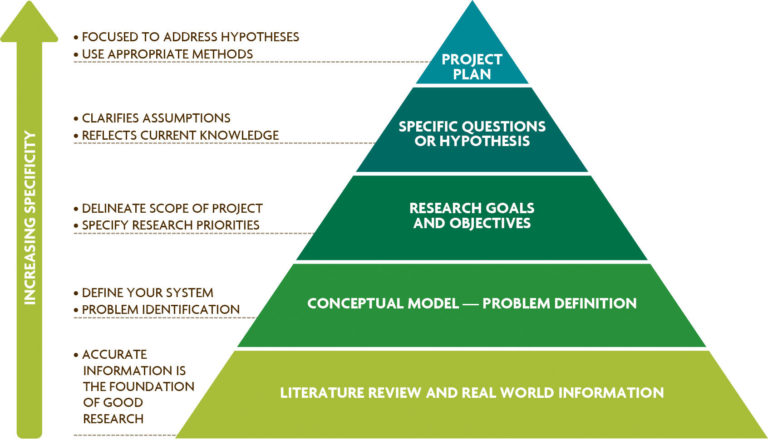 Figure 3.1. The Process of Project Development. Based on steps outlined by Friedland and Folt (2000).
