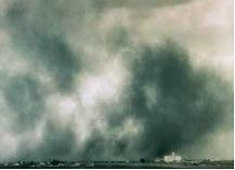 Figure 5.12. Drought and poor soil health created wind and water erosion during the Dust Bowl.