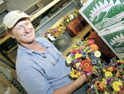 Full Belly Farm in northern California has cultivated a loyal base of members for its community operation, which provides 80 different types of vegetables and even wool. Paul Muller is one of four farm partners.
