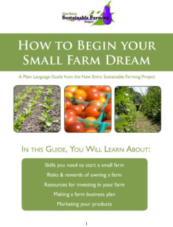 guide on how to begin your small farm dream