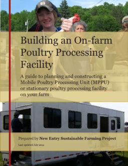 Guide on building an on-farm poultry processing facility