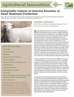 Cover of Internal Parasite Control of Small Ruminants Fact Sheet