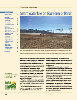 Cover page of Smart Water Use bulletin
