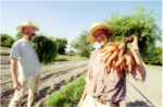 Thomas Case and Ben Dana at Arethusa Farm