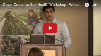 welcome and introductions to the cover crops for soil health workshop