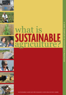 What is Sustainable Agriculture report cover