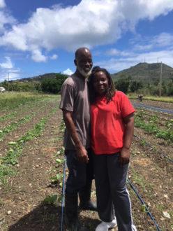 Yvette and Dale Brown of Sejah Farms