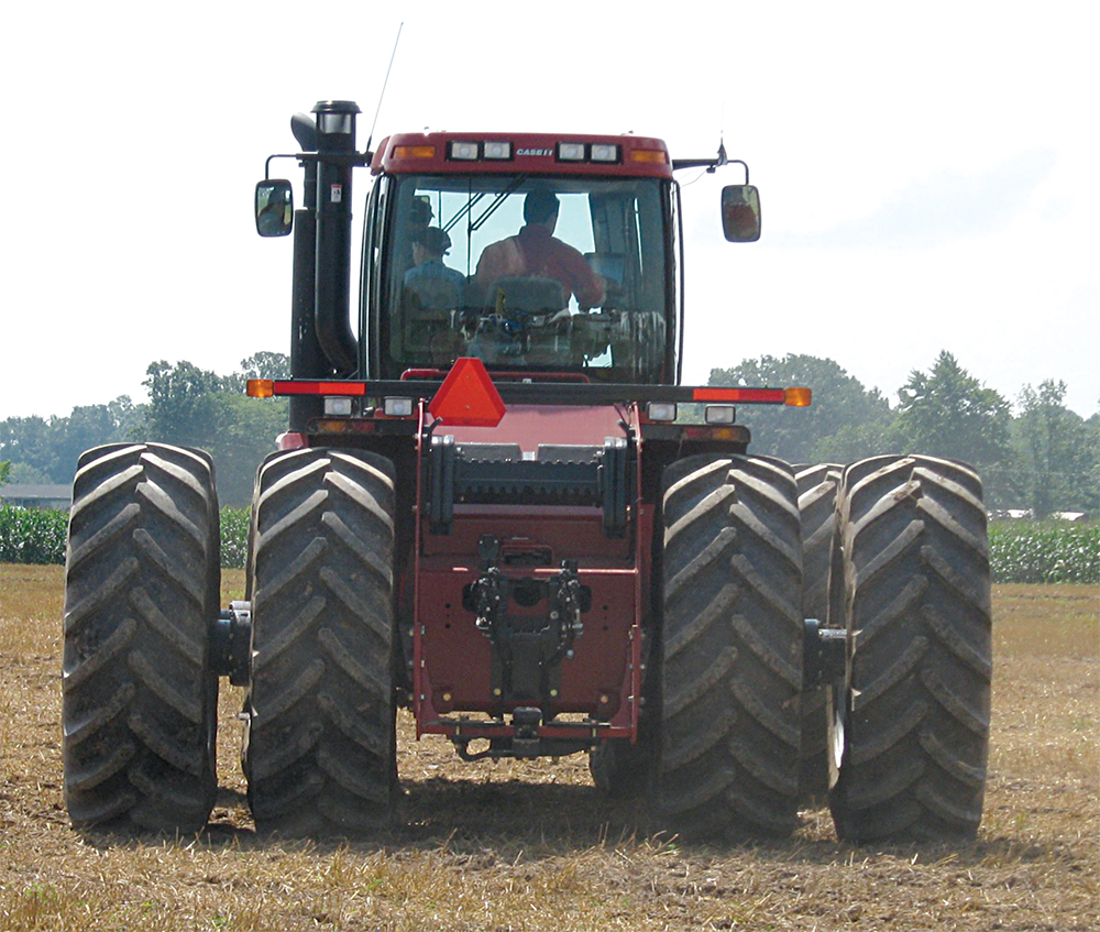 dual tractor wheels that increase traction