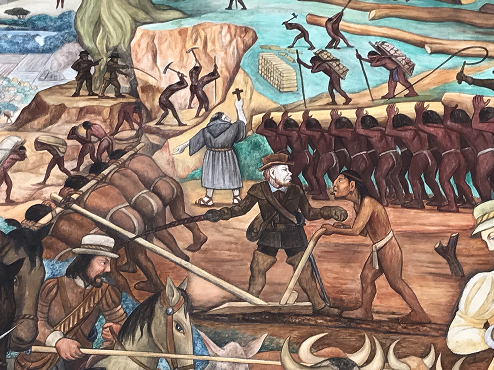 farmers plowing after the european invasion