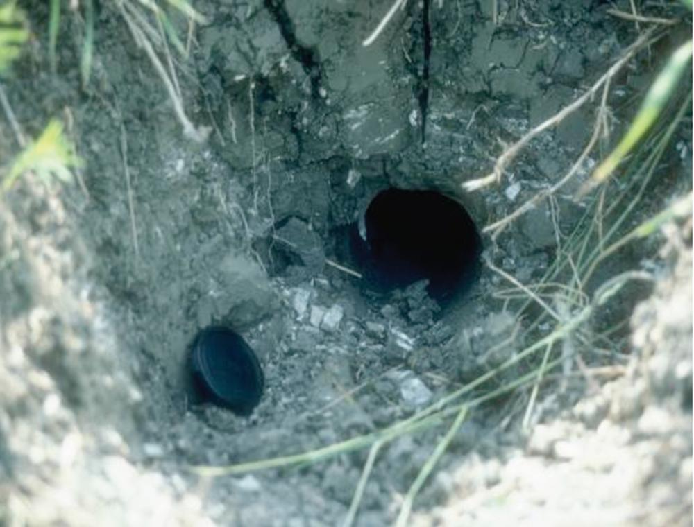mole drain in clay soil