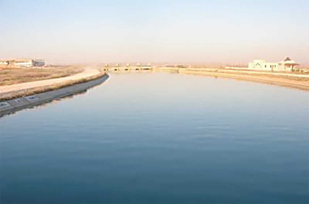 euphrates river canal