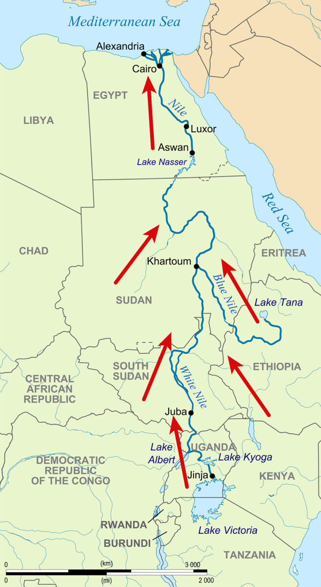 converging water flows