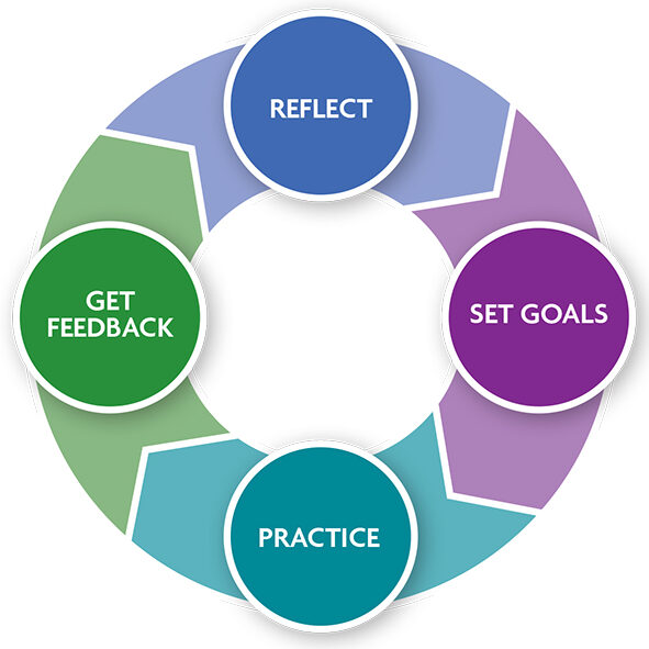the cycle of deliberate practice in teaching and learning