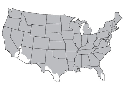 United States map of barley growth