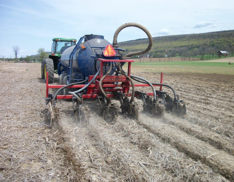 A manure injector