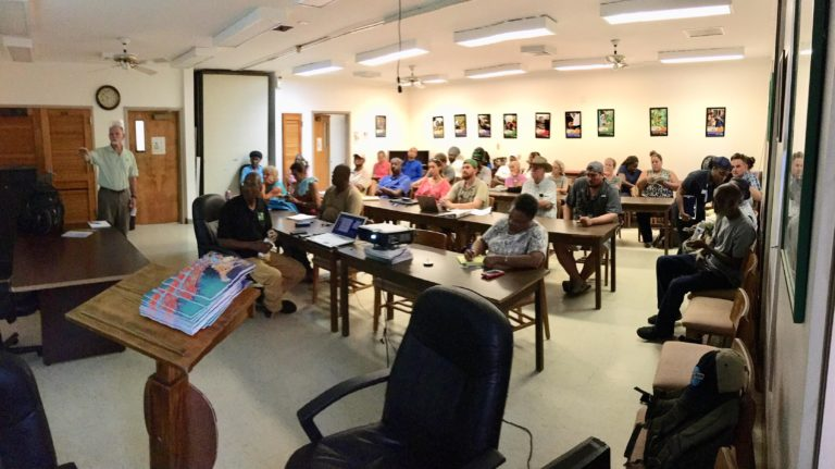 Producer meeting on St. Croix
